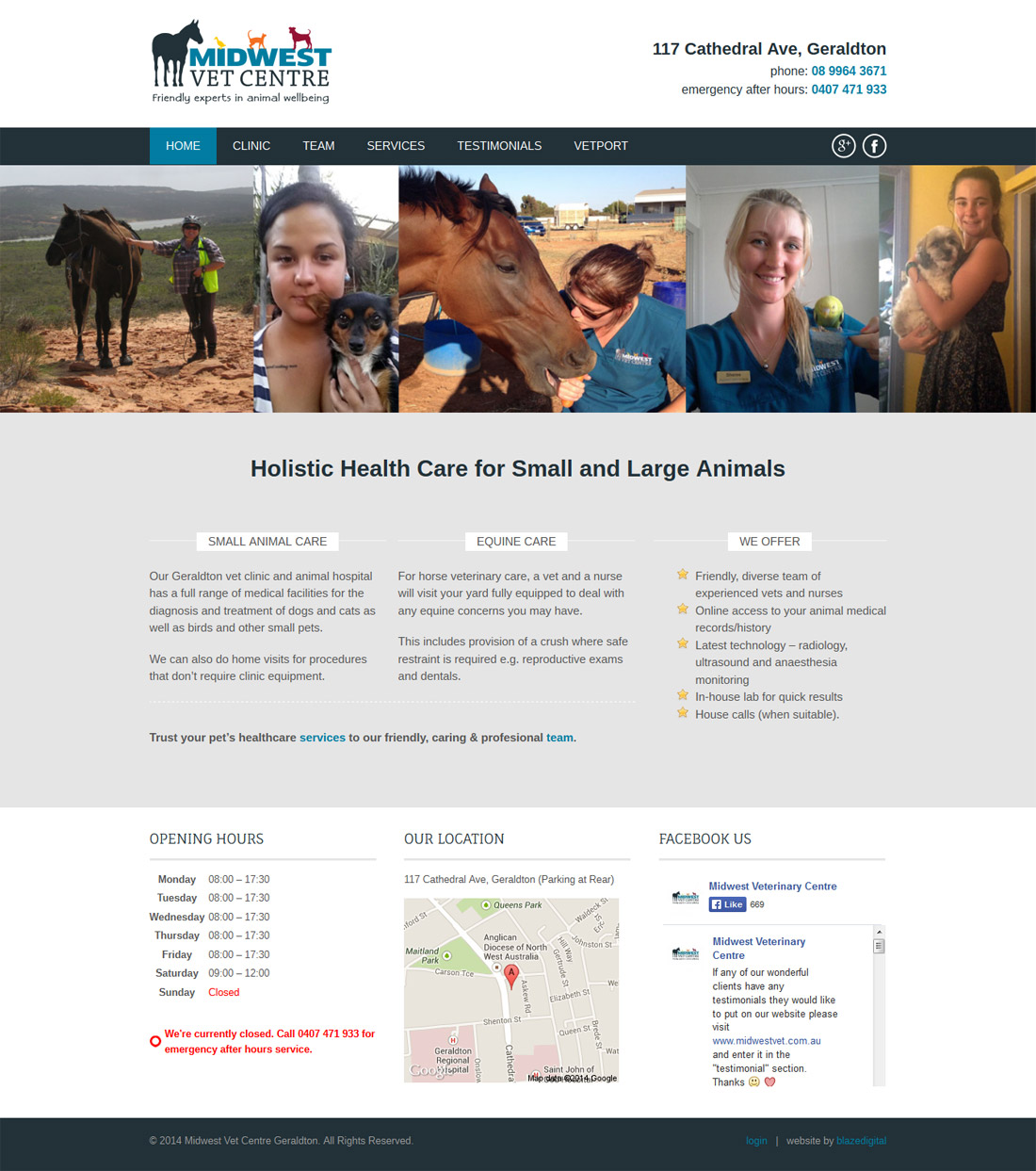 Midwest Vet home page