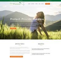 Care 4 women home page design