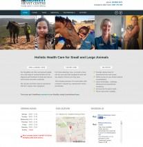 Midwest Vet Centre Home web page design