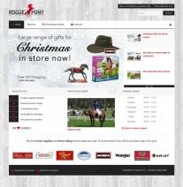 Rogue Pony Home page