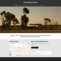 Tenindewa Town home page design
