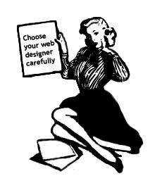 Choose your web designer carefully