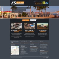 Just Auto Services Karratha web design