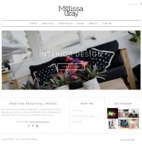 Melissa Gray web design